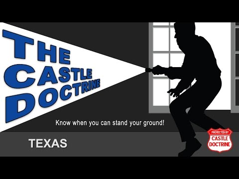TX Castle Doctrine