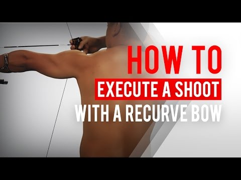 Back tension: How to execute a shot with a recurve bow   Archery 360