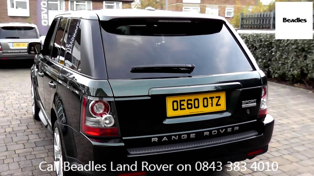 Beadles Galway Green 2011 Land Rover Range Rover Sport HSE 3l