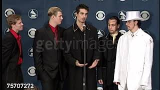 Backstreet Boys Interview at the 1999 Grammys