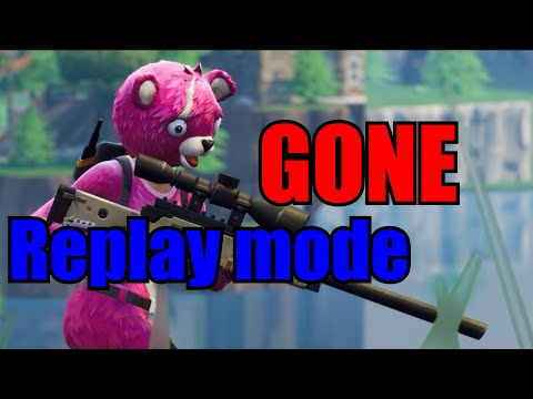 FORTNITE REPLAY MODE *REMOVED*!? (Chapter 2, Season 1) Are Skit Channels Ruined!?