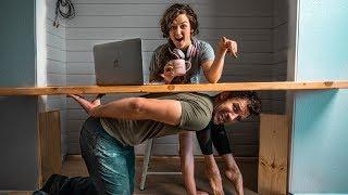 DIY Desk Closet Makeover | Homeschool Edition