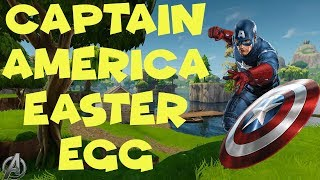 Fortnite - Captain America Easter Egg