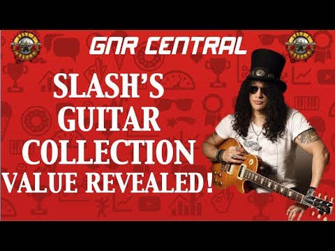 Guns N' Roses: Slash's Guitar Collection Net Worth Revealed!