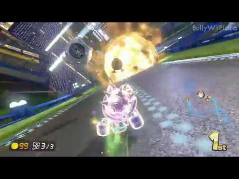 [Mario Kart 8] Pwning Pro Lobby with unlimited Items
