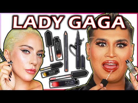 LADY GAGA HAUS LABORATORIES MAKEUP REVIEW Wow I&39;m SHOOK