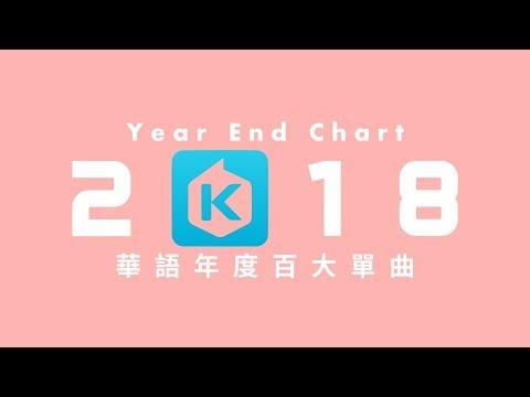 2018年 KKBOX 華語年度百大單曲 KKBOX Top 100 Taiwan C-POP Songs of 2018