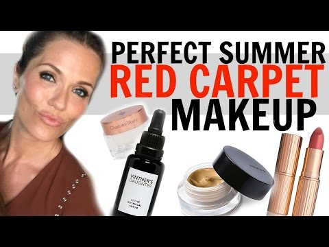 Perfect Summer Red Carpet Makeup with Katie Aselton