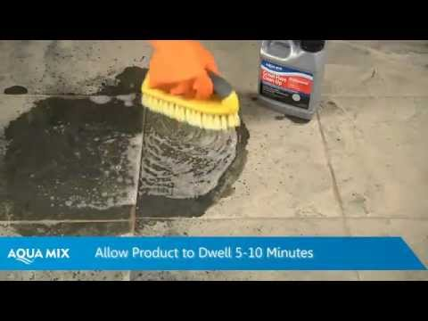 How To Remove Grout Haze Using Clean Up