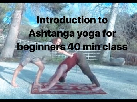 introduction to ashtanga yoga for beginners 40 min class.