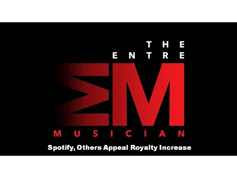 The EntreMusician: Spotify, Google, Pandora & Amazon Appeal Royalty Increases Mp3
