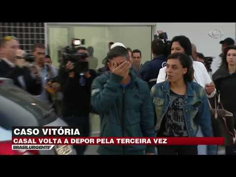 Caso Vitória: Casal citado em relato volta à delegacia