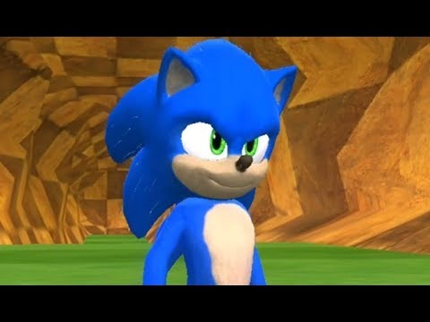 New Movie Sonic In Sonic World