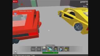 Roblox Car Building : Lamborghini Aventador vs. Ferrari 458 Spider