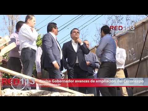 VIDEO Revisa Gobernador avances de ampliación y modernización del Ceconexpo