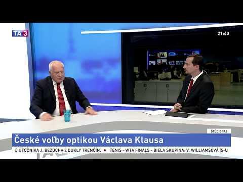 Václav Klaus sa vyjadril k českým parlamentným voľbám