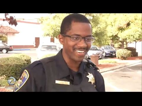 A Hayward officer's gesture of goodwill