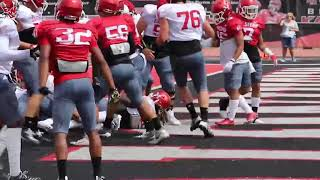 2019 Eags Camp Scrimmage #1