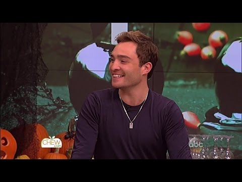 Ed Westwick on The Chew 102715 HD