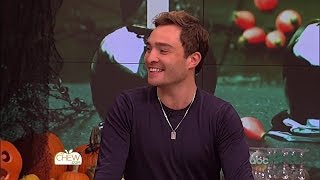 Ed Westwick on The Chew 10/27/15 [HD]