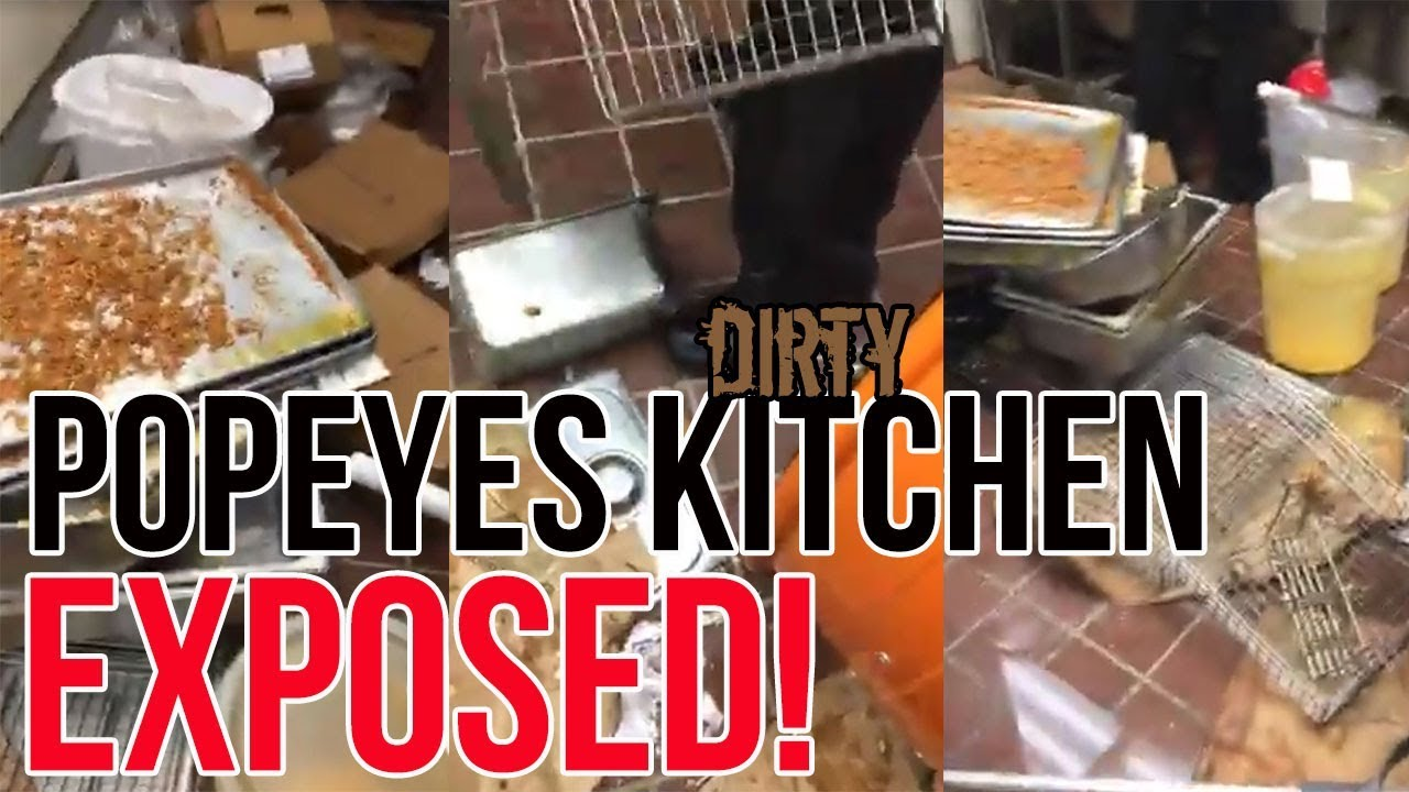 Popeyes Employees Caught In Action