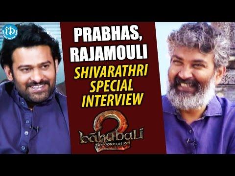 Rajamouli & Prabhas Shivarathri Special Interview || Baahubali: The Conclusion || #WKKB