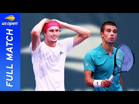 Alexander Zverev vs Borna Coric Full Match | 2020 US Open Quarterfinal