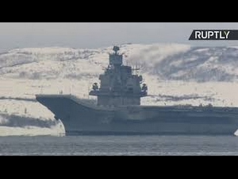 Russian naval battle group returns from Syria mission in the Mediterranean