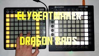 Iskall85 - Dragon Bros (elybeatmaker Remix) (Dual Launchpad cover)