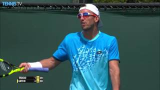 Troicki Jumps The Net Miami 2016