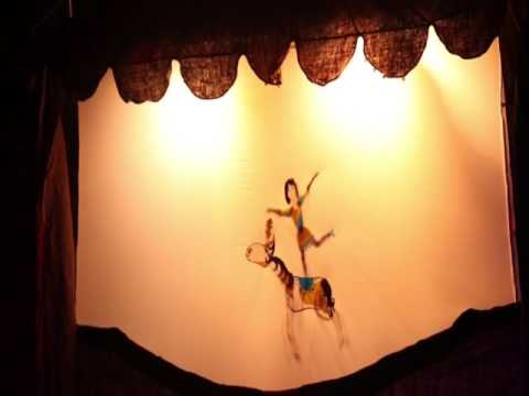"""Strange Circus Of Marc Chagall"" Puppet and Shadow theater ""Reflection"" Moscow"