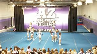 Landry Cheer AZ All-Stars Showcase 111018 - Purple Tide Routine 2
