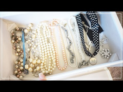 Decluttering & Reorganizing My Jewelry Collection • Jun. 20, 2017