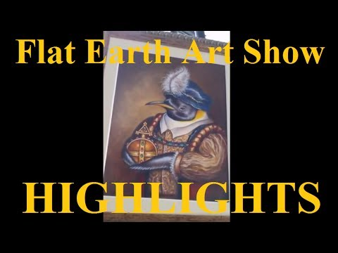 Flat Earth art show highlights - New Mexico ✅