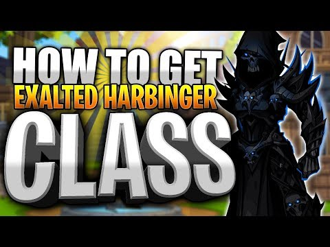 How to get Exalted Harbinger Class! AQW AdventureQuest Worlds