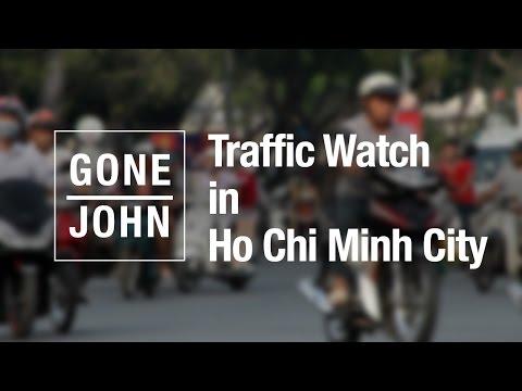Traffic in Ho Chi Minh City (Saigon), Vietnam