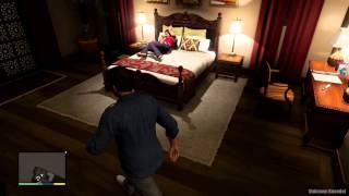 Repeat youtube video GTA V - Michaels Wife Amanda cought Masturbating [1080p]