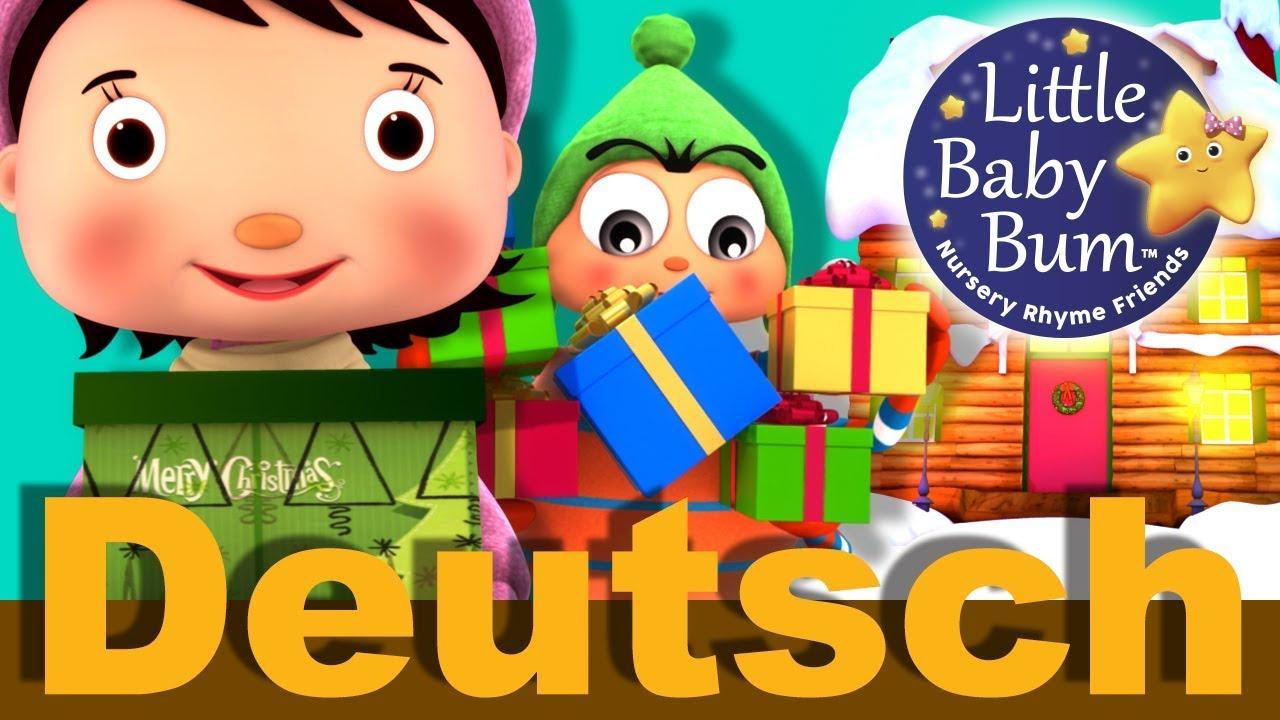 Schmückt das Haus | Weihnachtslieder | Kinderlieder | LittleBabyBum ...
