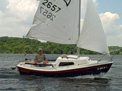 West Wight Potter Sailing