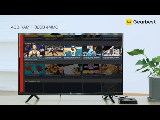 A5X MAX Android 8 1 TV Box 4GB RAM + 32GB eMMC