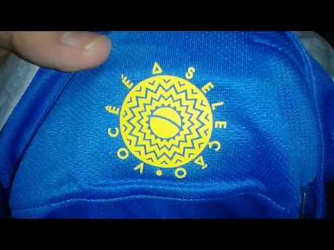 Camisa da seleção brasileira Nike azul 2018