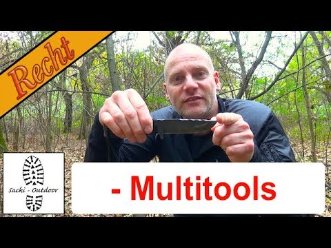 Outdoor-Recht 6 - Multitools