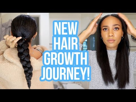 Starting My New Hair Growth Regimen 🙌🏽| Week In My Hair Journey Ep.12