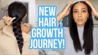Starting My New Hair Growth Regimen 🙌🏽| Week In My Hair Journey Ep.12