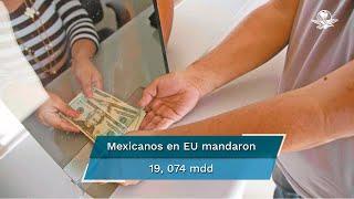 Banco de México (Banxico) informó que la mayoría de los paisanos mandó remesas por transferencia electrónica a través de 56.7 millones de operaciones, con 336 dólares en promedio