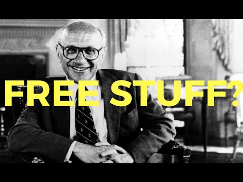 Can the Government provide free stuff? - Milton Friedman