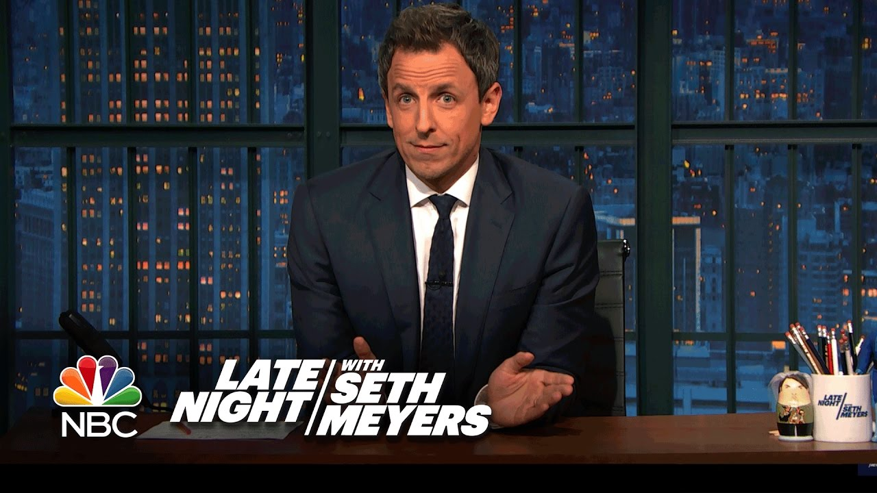Seth Meyers Uses Trump's Words Against Him In Fiery Takedown