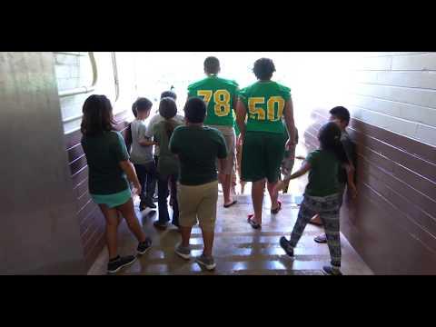 Kaimuki Youth Development Organization- Kaimuki Football- A Day at Palolo Elementary School. 2018