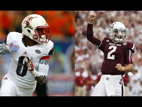 Lamar Jackson vs. Johnny Manziel