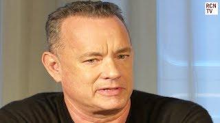 Tom Hanks On Important Journalism & Playing Washington Post Editor